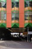 Köpcentrum Globus Voelklingen Fotografering för Bildbyråer