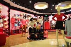 Köpcentrum i ShenZhen Royaltyfria Bilder