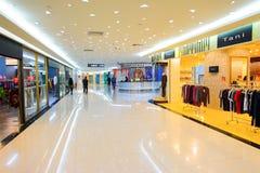 Köpcentrum i ShenZhen Arkivfoto