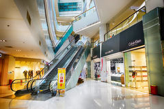 Köpcentrum i ShenZhen Royaltyfri Bild