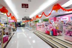 Köpcentrum i ShenZhen Fotografering för Bildbyråer