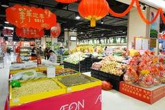 Köpcentrum i ShenZhen Arkivbild