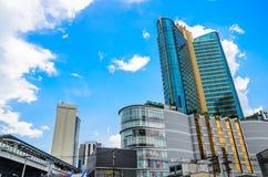 Köpcentrumbyggnad Arkivfoton