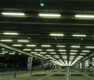 Köpcentrumparkeringsplats fotografering för bildbyråer