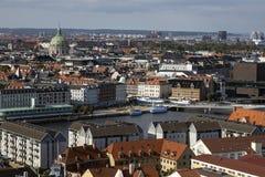 Köpenhamn - Danmark Arkivfoton