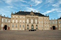 Köpenhamn Danmark - Amalienborg springa Fotografering för Bildbyråer