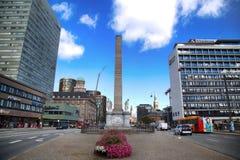 KÖPENHAMN DANMARK - AUGUSTI 16, 2016: Liberty Memorial är p Royaltyfria Foton