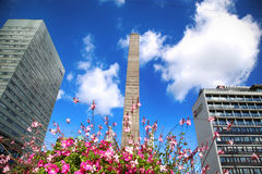 KÖPENHAMN DANMARK - AUGUSTI 16, 2016: Liberty Memorial är p Royaltyfri Fotografi