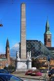 KÖPENHAMN DANMARK - AUGUSTI 16, 2016: Liberty Memorial är p Royaltyfri Bild