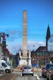 KÖPENHAMN DANMARK - AUGUSTI 16, 2016: Liberty Memorial är p Royaltyfri Foto