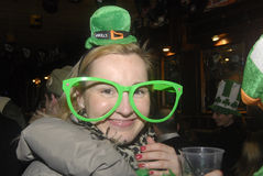 lycklig St Patrick dag Arkivbilder