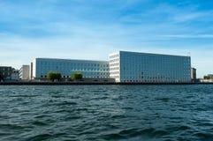 Köpenhamn Danmark - kontorsbyggnad Royaltyfri Foto