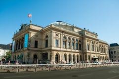Köpenhamn Danmark - kunglig dansk teater Arkivbild