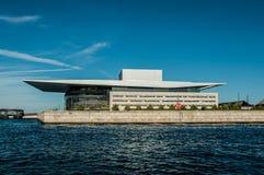 Köpenhamn Danmark - nationell teater Royaltyfria Foton
