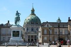 Köpenhamn Danmark Royal Palace Royaltyfria Foton