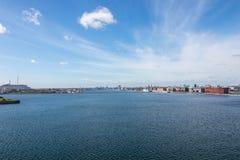 Köpenhamn huvudstaden av Danmark royaltyfri foto
