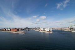 Köpenhamn huvudstaden av Danmark Royaltyfri Bild
