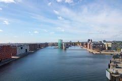Köpenhamn huvudstaden av Danmark royaltyfria bilder