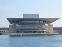 Köpenhamn Operaen Royaltyfria Foton