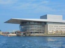 Köpenhamn Operaen Arkivfoton