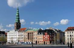 Köpenhamn. Ved Stranden Royaltyfri Foto