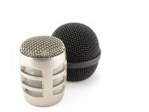 Köpfe der Mikrophone Lizenzfreies Stockbild