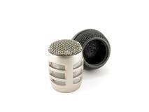 Köpfe der Mikrophone Lizenzfreie Stockbilder