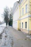 Köpmans hus av det 18th århundradet Arkivbild