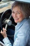 kör att ta för pensionär Royaltyfri Fotografi