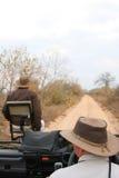 kör den modiga safarien Arkivfoto