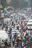 Kör Katmandu royaltyfri bild