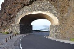 Kör längs kusten i Tenerife Royaltyfri Foto
