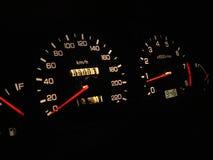 kör natten Royaltyfri Fotografi