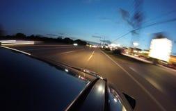 Kör på din väg Arkivfoton