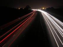köra för lampor Royaltyfri Fotografi