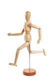köra för marionette som är trä Royaltyfria Bilder
