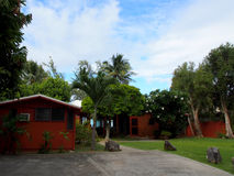 Körbana- och Waimanalo strandhus Royaltyfria Bilder