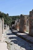 Körbana Pompeii arkeologisk plats, nr Mount Vesuvius, Italien Fotografering för Bildbyråer