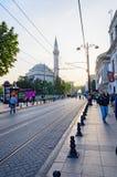 Körbanan av Istanbul. arkivfoto