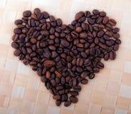 Körner des Kaffees lizenzfreies stockfoto