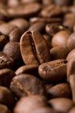 Körner des Kaffees Lizenzfreie Stockfotografie