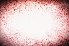 Körnige grobe materielle leere Oberfläche der Schmutzwand mit Vignette Stockbilder