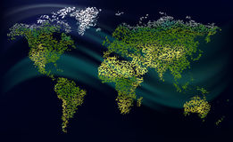 Körnige Welt Stockbilder