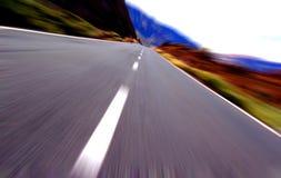 körning av ön Royaltyfri Fotografi