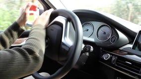 Körning av en BMW bil