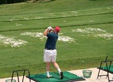 körning av golfareområde Royaltyfri Fotografi