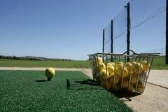 körning av golfområde Royaltyfria Bilder