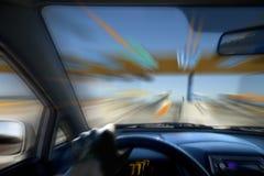 körning av hastighet Royaltyfria Foton