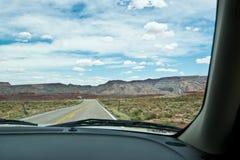 Körning igenom i Utah Royaltyfria Bilder