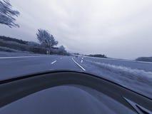 körning snabbt Arkivfoton